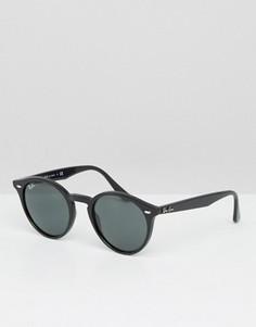 Круглые солнцезащитные очки Ray-Ban 0RB2180 - Черный
