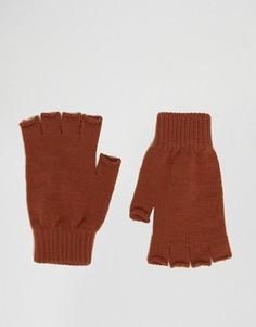 Перчатки без пальцев ASOS - Оранжевый