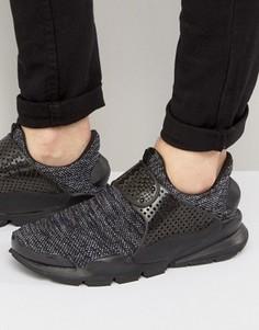 Черные дышащие кроссовки Nike Dart 909551-001 - Черный