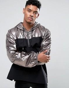 Серебристая куртка Jaded London - Серый