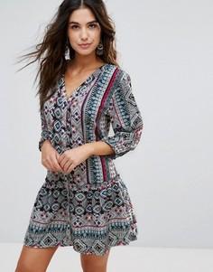 Пляжное платье с принтом Anmol - Мульти