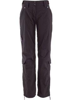 Функциональные брюки (черный) Bonprix