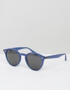 Круглые солнцезащитные очки Ray-Ban - Синий