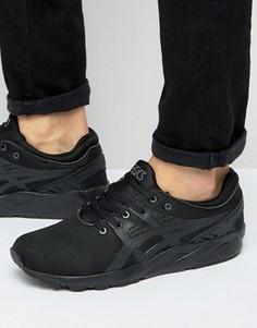Черные кроссовки Asics Gel-Kayano Evo H707N 9090 - Черный