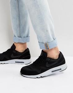 Черные кроссовки Nike Air Max 1 Ultra 875679-002 - Черный