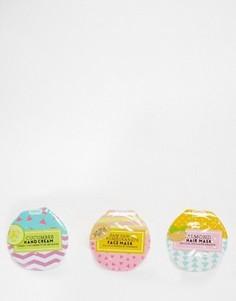 Набор из трех косметических питательных средств одноразового использования Beauty Junky - Бесцветный
