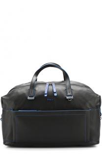 Кожаная дорожная сумка с плечевым ремнем Furla