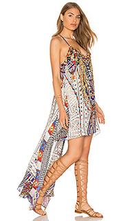 Платье с открытой спиной и вырезом спереди - Camilla