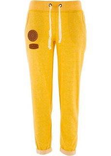 Трикотажные брюки (ярко-желтый) Bonprix