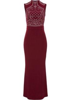 Вечернее платье (гранатовый) Bonprix