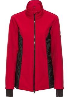 Куртка-софтшелл с жилеткой 3 в 1 (темно-красный) Bonprix