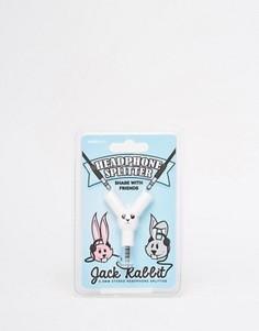 Разветвитель для наушников с американским зайцем - Мульти Suck UK