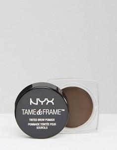 Помада для бровей NYX Professional Make-Up - Tame & Frame - Коричневый