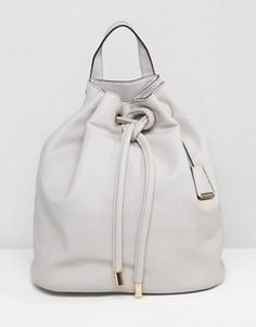 Бежевый рюкзак дафл на шнурке Glamorous - Бежевый