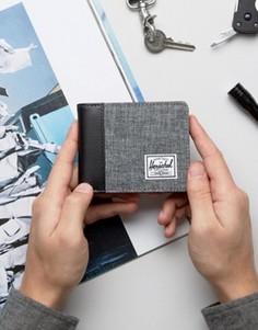 Серый бумажник Herschel Supply Co Edward - Серый
