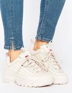 Розовые кроссовки Fila Disruptor - Розовый