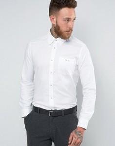 Оксфордская рубашка классического кроя Ted Baker - Белый