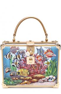 Сумка Dolce Box с росписью Dolce & Gabbana
