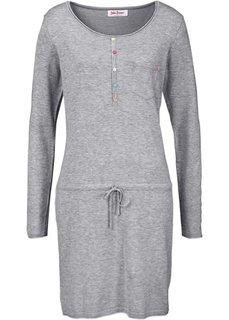Вязаное платье (светло-серый меланж) Bonprix