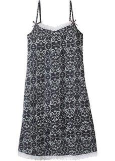 Ночная сорочка (антрацитовый с узором) Bonprix