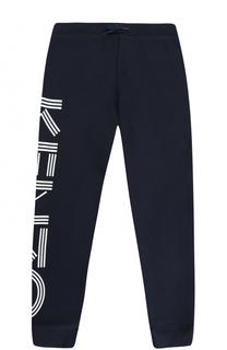Спортивные джоггеры из хлопка с логотипом бренда Kenzo