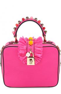 Сумка Dolce Soft с декором Dolce & Gabbana