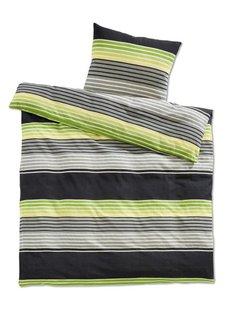 Постельное белье Герри, линон (зеленый) Bonprix