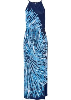 Платье (темно-синий/черный/белый) Bonprix