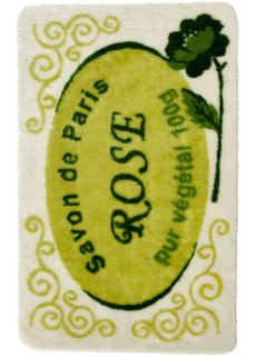 Коврик для ванной Лилль (зеленый) Bonprix
