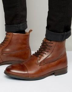 Светло-коричневые ботинки на шнуровке Aldo Asodda - Коричневый