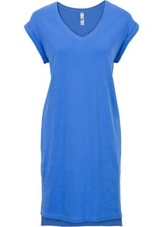 Трикотажное платье (ледниково-синий) Bonprix