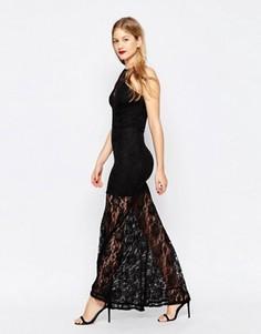 Кружевное платье макси Honor Gold - Черный