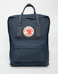 Темно-синий рюкзак Fjallraven Kanken - Темно-синий