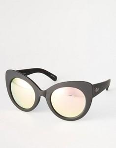Солнцезащитные очки Quay Australia Screaming Diva - Черный