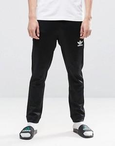Черные зауженные джоггеры adidas Originals BLK/WVN BQ3550 - Черный