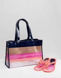 Набор из сумки и шлепанцев Ted Baker - Мульти
