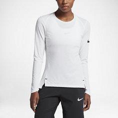 Женская баскетбольная футболка с длинным рукавом Nike Breathe Elite