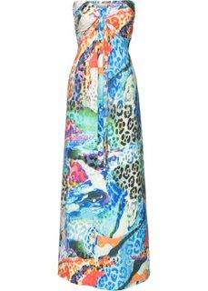 Длинное платье (синий) Bonprix