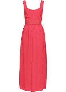Макси-платье (красный) Bonprix