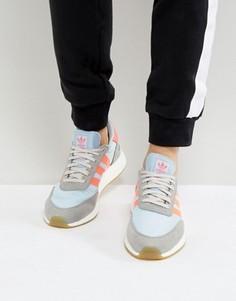 Серые кроссовки для бега adidas Originals Iniki BB2098 - Серый