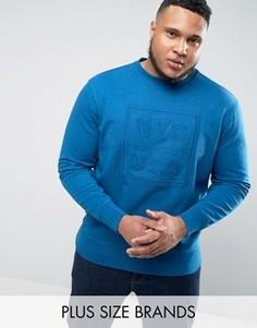 Худи темно-синего цвета с логотипом Tommy Hilfiger PLUS Darrel - Темно-синий