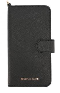 Чехол для iPhone 7 Plus из сафьяновой кожи MICHAEL Michael Kors