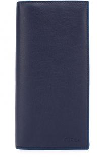 Кожаный бумажник с отделениями для кредитных карт и монет Furla
