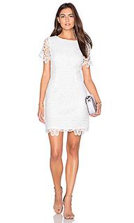 Мини платье short sleeve lace - J.O.A.