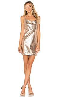 Платье с металлическим отливом luna - For Love & Lemons