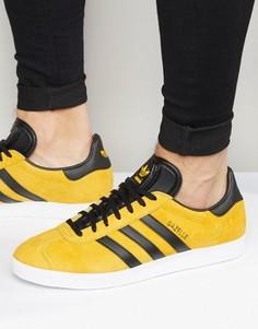 Золотистые кроссовки adidas Originals Gazelle S79979 - Золотой