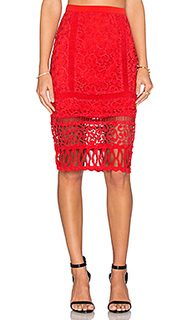 Кружевная юбка-карандаш melrose - Greylin