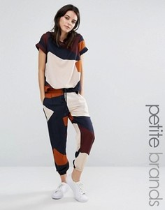 Спортивные штаны в стиле колор блок Vero Moda Petite - Мульти