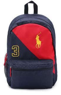 Рюкзак с логотипом бренда Polo Ralph Lauren