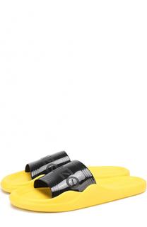 Резиновые шлепанцы с логотипом бренда Kenzo